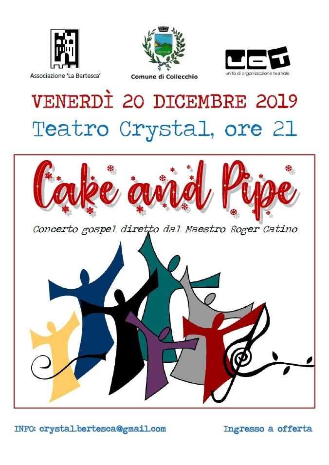 Concerto Gospel con il Gruppo Cake & Pipe al teatro Crystal