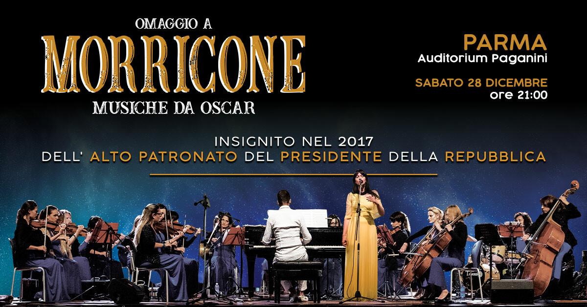 """PARMA: OMAGGIO A MORRICONE – """"Musiche da Oscar"""""""