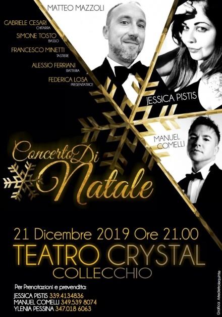 Concerto di Natale al Teatro Crystal