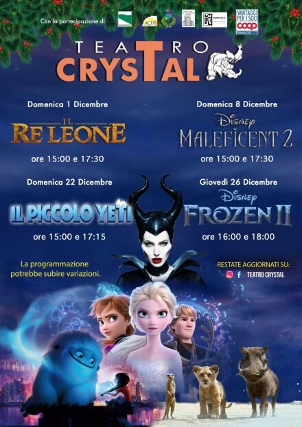 Frozen 2 al Cinema Teatro Crystal