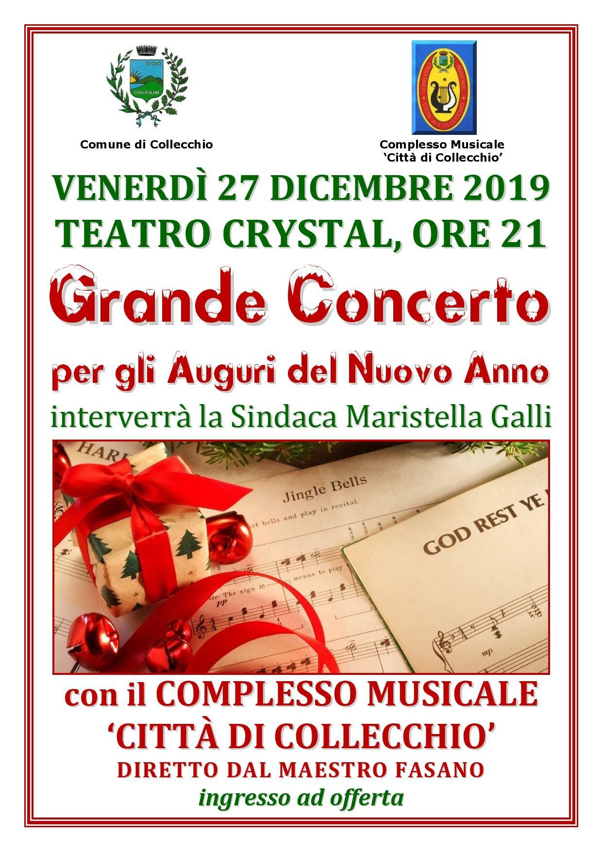 Grande Concerto per gli Auguri del Nuovo Anno a Collecchio