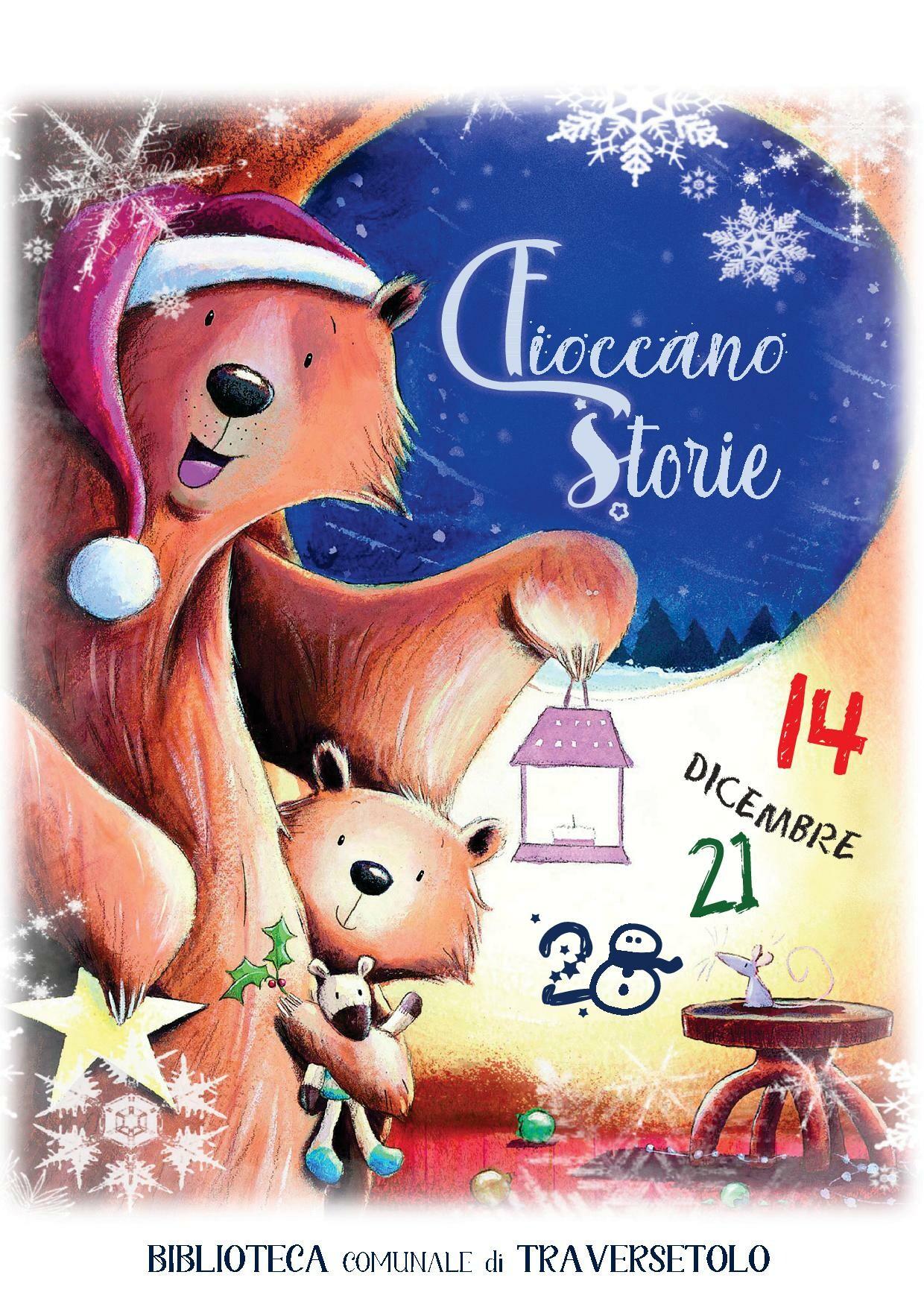 """Per Natale """"Fioccano le storie"""" nella biblioteca comunale"""