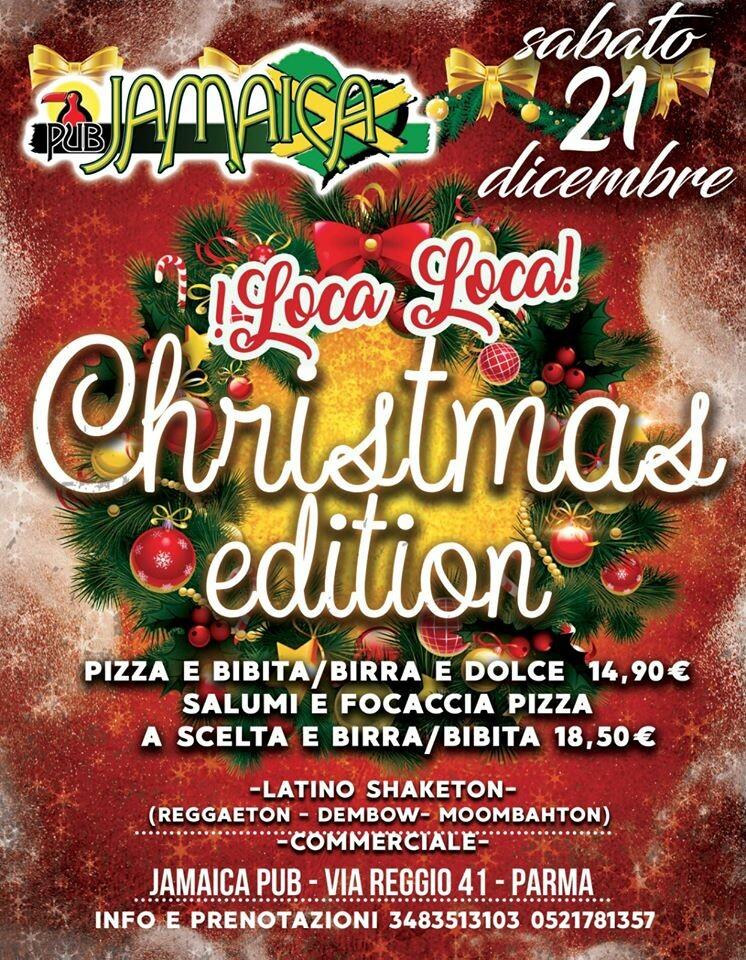 Loca loca Christmas al Jamaica pub