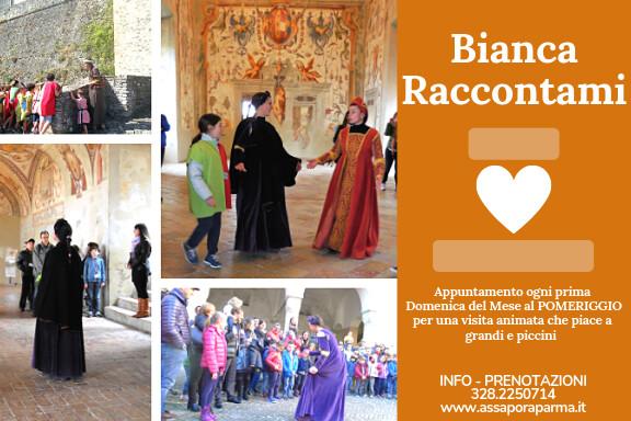 BIANCA RACCONTAMI il Castello di Torrechiara  - Una visita che è una Favola !