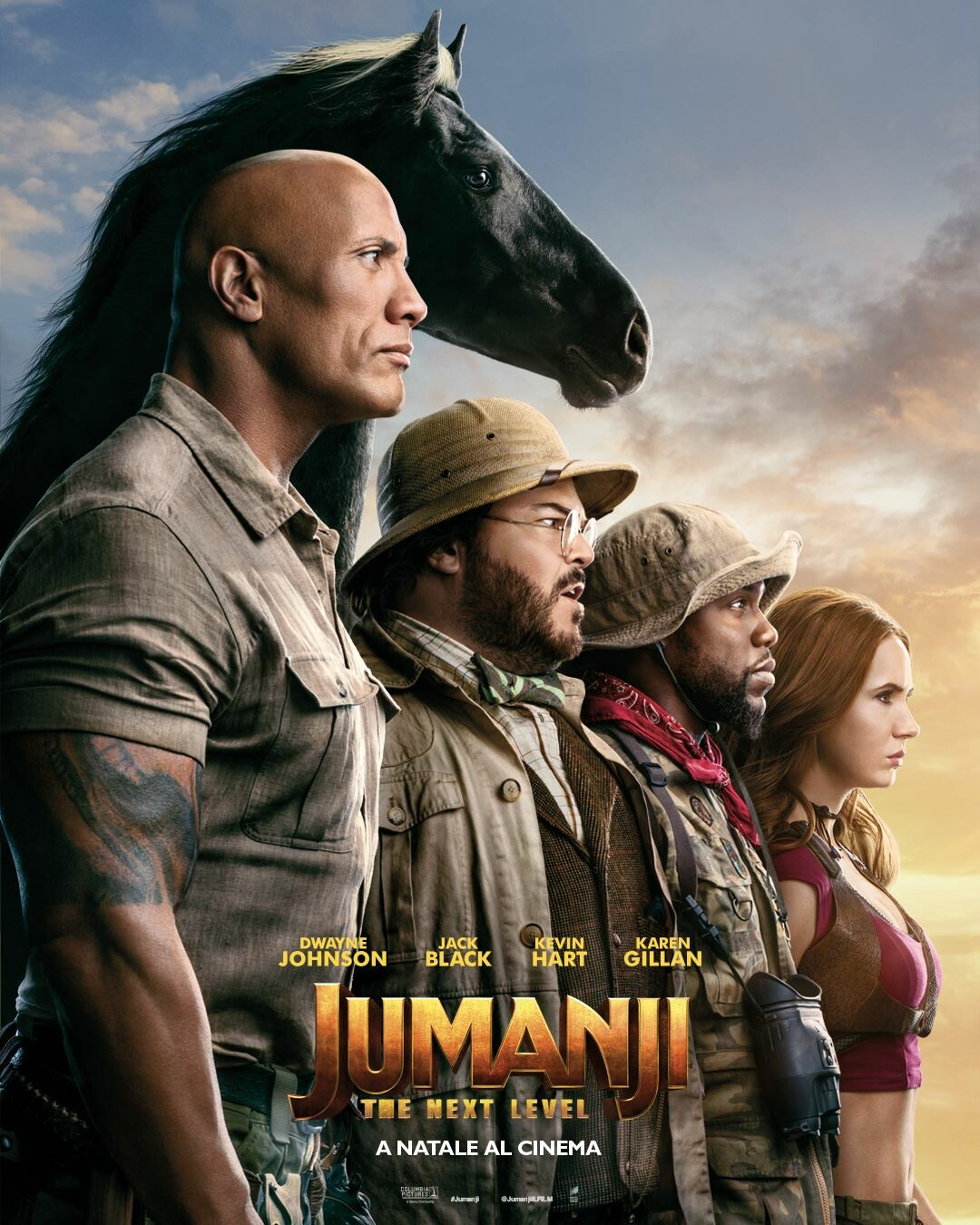 JUMANJI the next level al cinema Cristallo