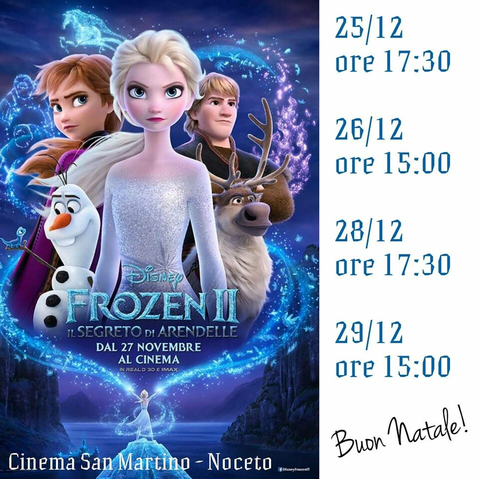 FROZEN  al cinema San Martino