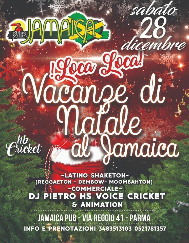 Vacanze di Natale al Jamaica