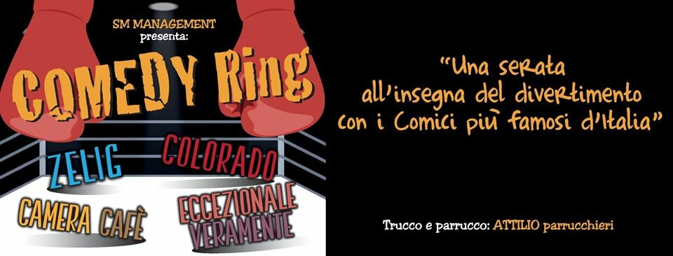 Comedy RING al Teatro Crystal