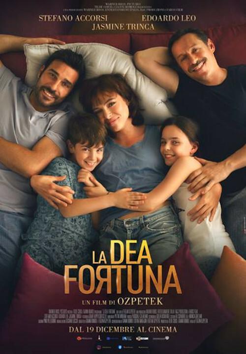 LA DEA FORTUNA Regia: Ferzan Ozpetek  con Stefano Accorsi al cinema Grand'Italia