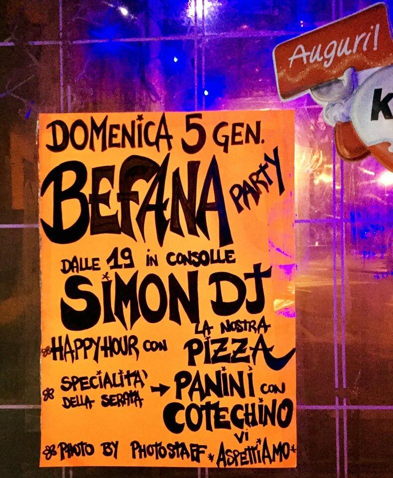 All'Osteria della Posta a Borghetto Super BAFANA PARTY, in consolle SIMON DJ!!!!