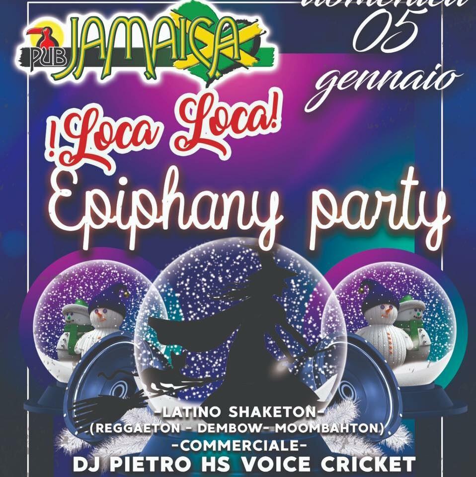 Epiphani party al JAMAICA PUB PARMA