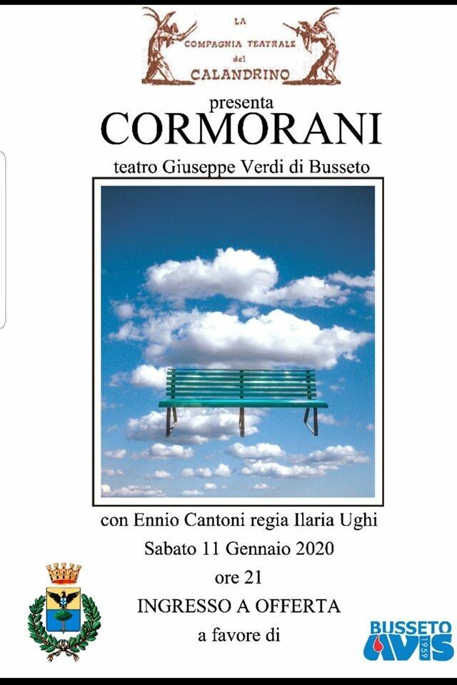 Cormorani al Teatro Giuseppe Verdi