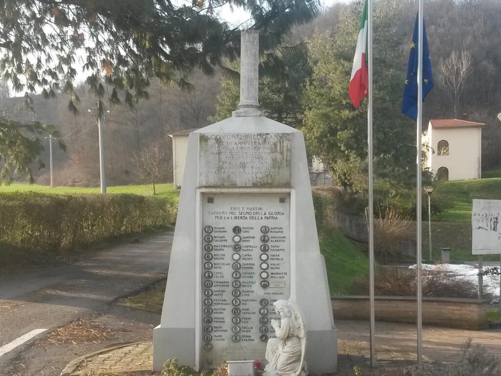 Commemorazione dei caduti partigiani e civili  6 GENNAIO 1945 - 6 GENNAIO 2020