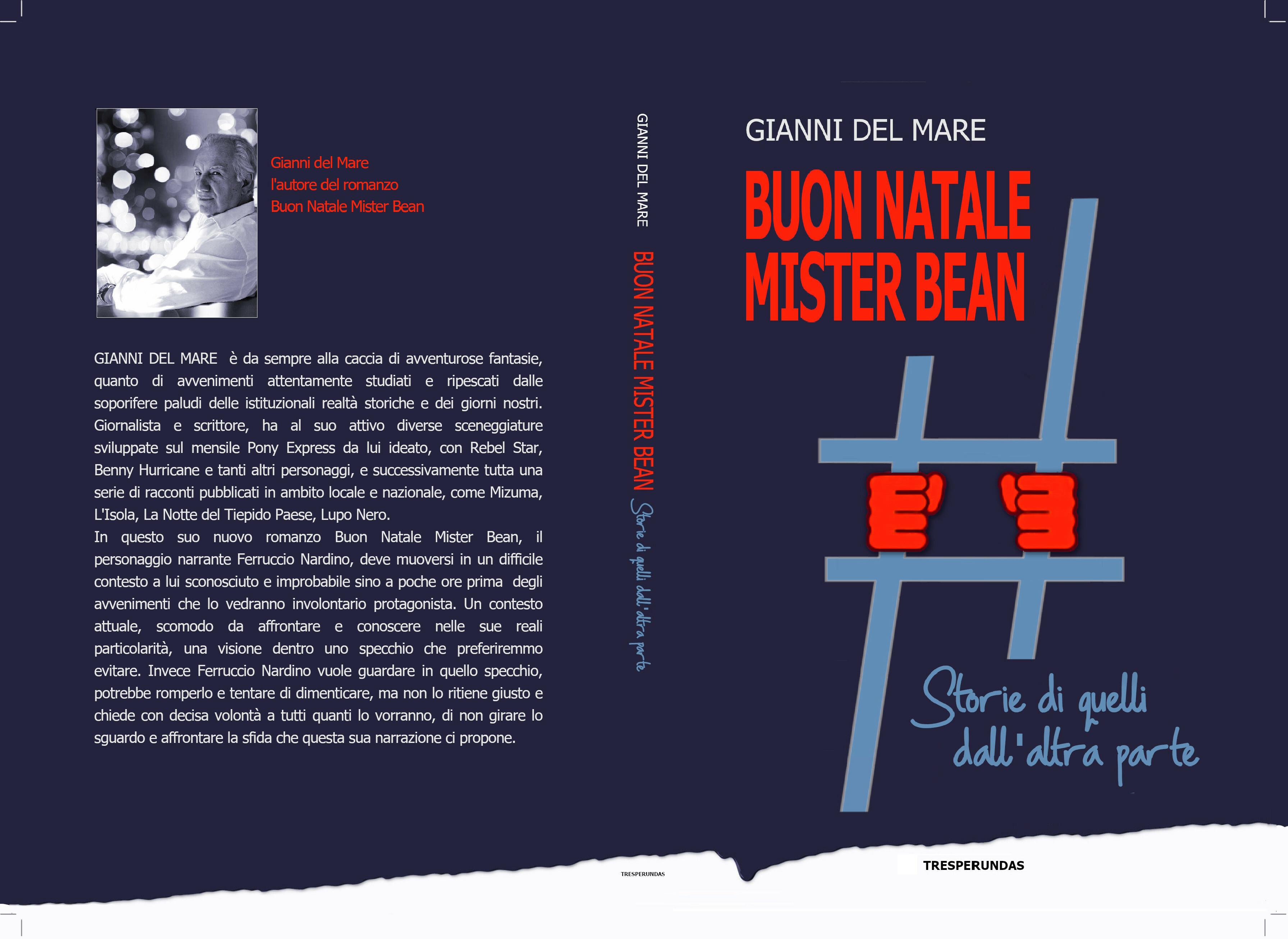 Il nuovo libro di Gianni Del Mare BUON NATALE MISTER BEAN