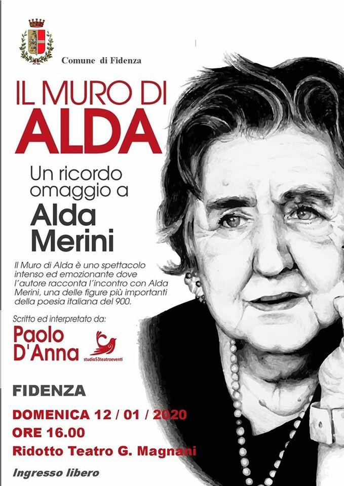 """Il muro di Alda"""", un omaggio alla poetessa Alda Merini"""