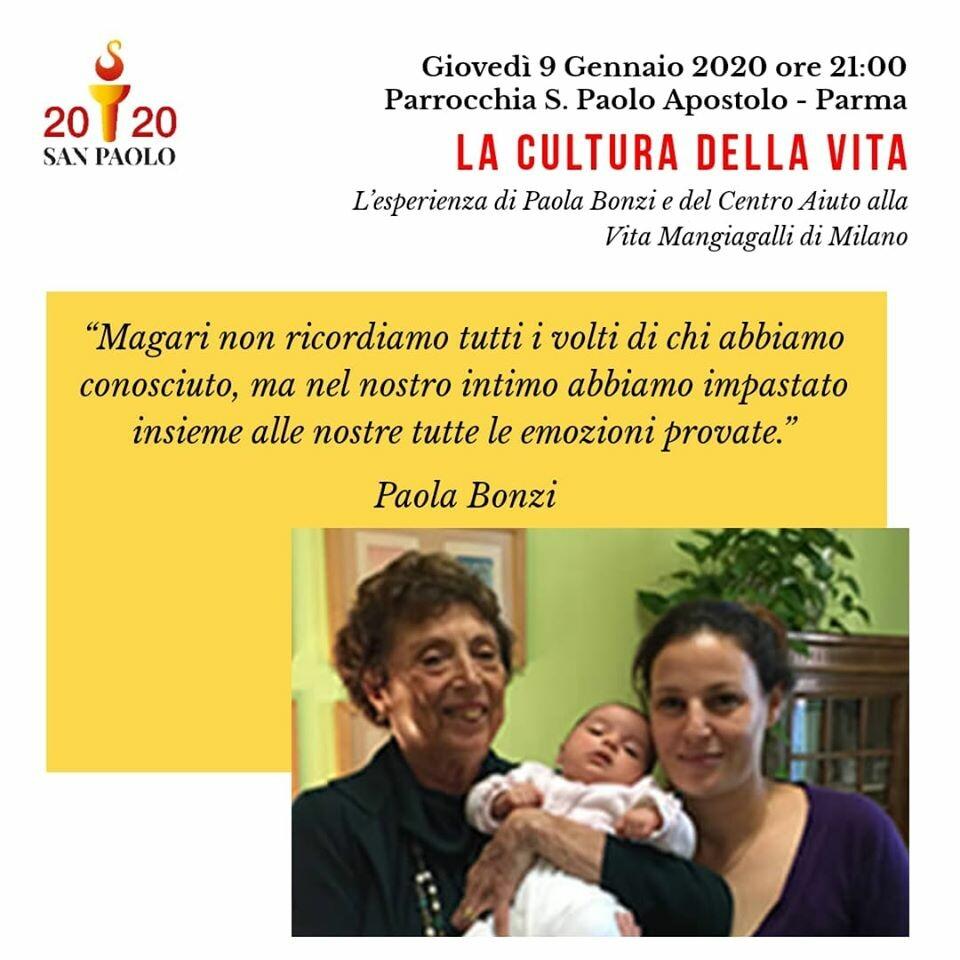 La cultura della vita: l'eperienza di Paola Bonzi e del Centro Aiuto alla Vita