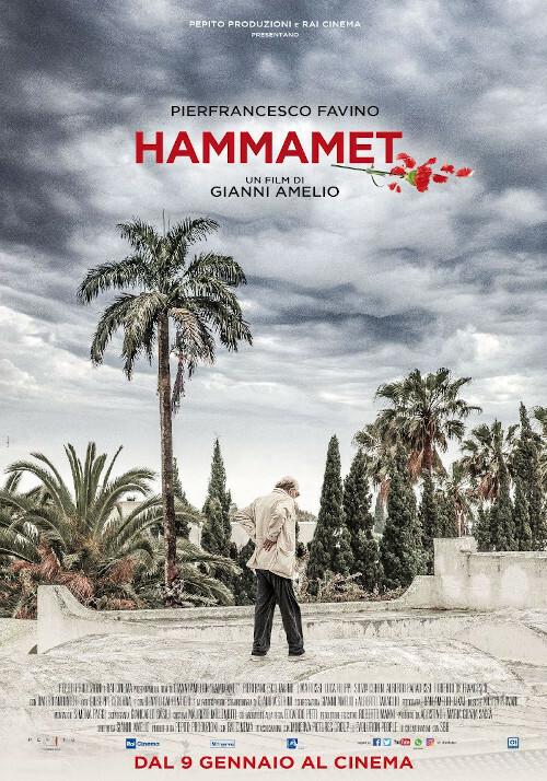 HAMMAMET  di Gianni Amelio con Pierfrancesco Favino al Cinema D'Azeglio