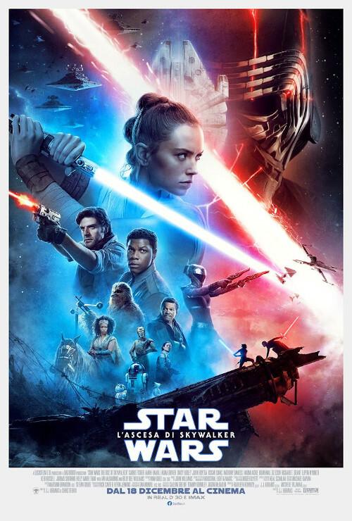 """STAR WARS - L'ASCESA DI SKYWALKER""al  cinema Lux"