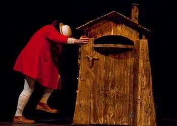 'Casa de Tabua'  spettacolo per bambini, con mimi e clown al Teatro Crystal