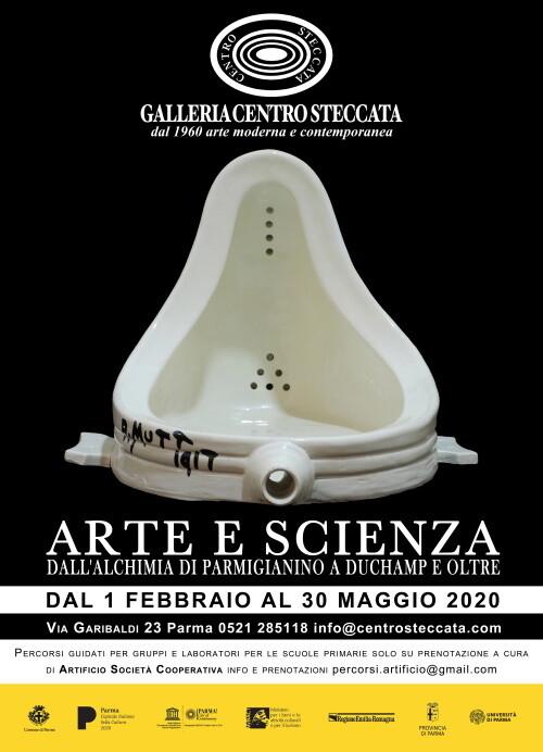 """Mostra """"Arte e scienza - Dall'Alchimia di Parmigianino a Duchamp e oltre"""""""