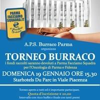 Torna il grande torneo di burraco Dodici associazioni per il Polo Oncologico con Parma Facciamo Squadra.