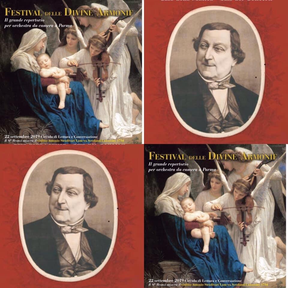 """Salotti musicali parmensi - Un crescendo rossiniano in Certosa: le """"Sonate a 4"""" di Rossini"""