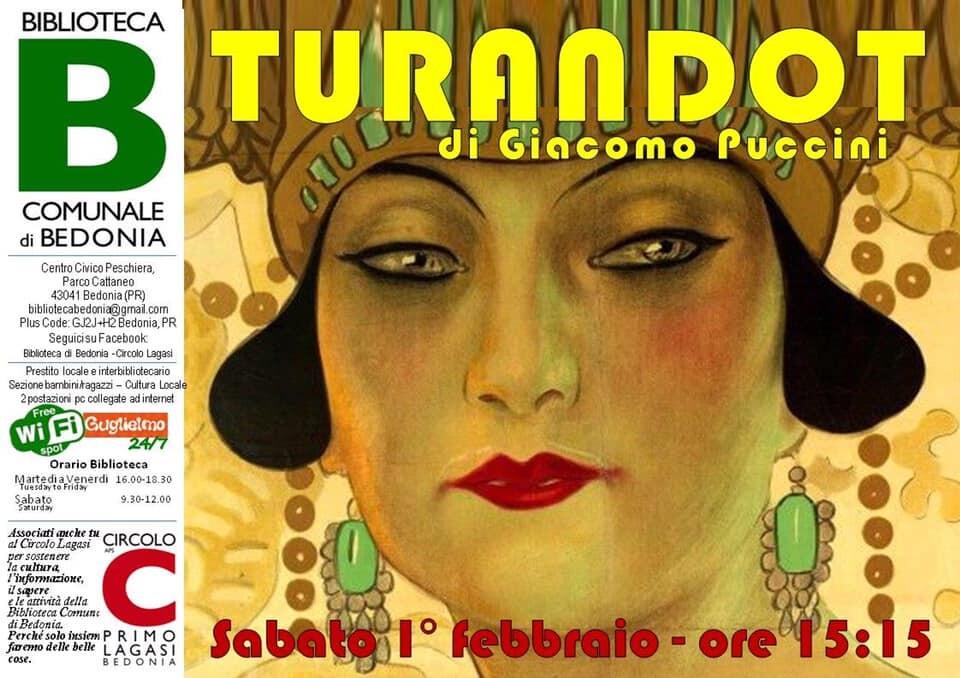 Turandot a Bedonia