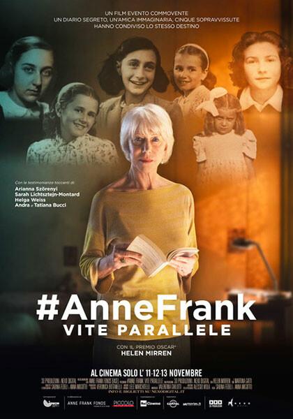 """#ANNE FRANK – VITE PARALLELE""    al Mycinem@"
