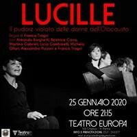 Lucille Il 25 gennaio lo spettacolo teatrale in occasione della Giornata della Memoria