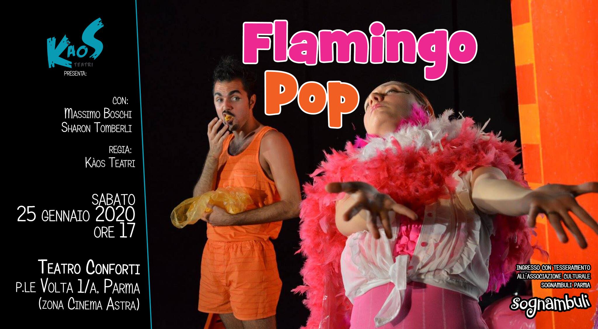FlamingoPop   al teatro Conforti