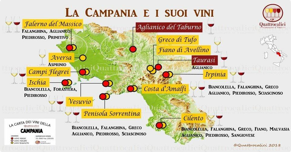 Grandiosa degustazione di vini campani  al ristorante enoteca OMBRE ROSSE