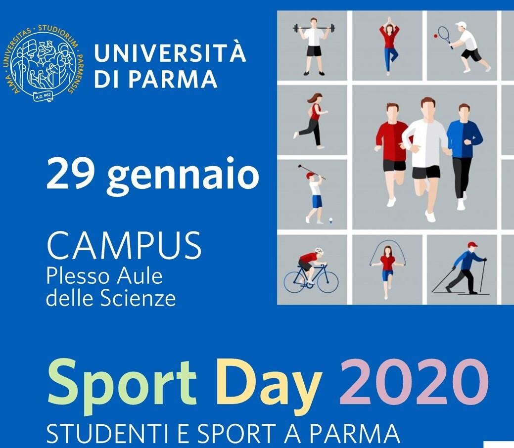 """""""SPORT DAY 2020 - STUDENTI E SPORT A PARMA"""""""