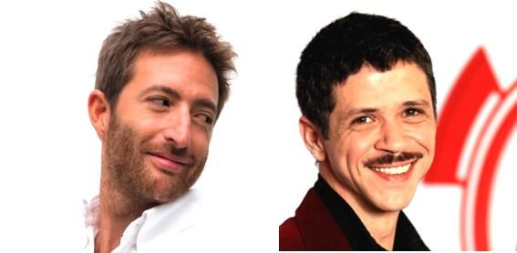 IL LETTO OVALE  con Matteo Vacca e Marco Morandi in scena al Nuovo Teatro Pezzani