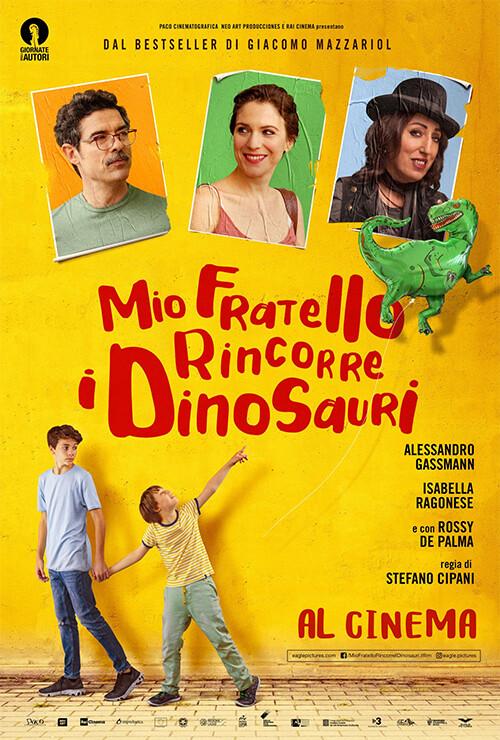 MIO FRATELLO RINCORRE I DINOSAURI con Alessandro Gassman  al Cinema D'Azeglio