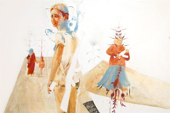 """""""Madre, patria, figlie""""  Le tavole dell'artista Deda Artusi in mostra dal 30 gennaio nello spazio espositivo LaZona."""