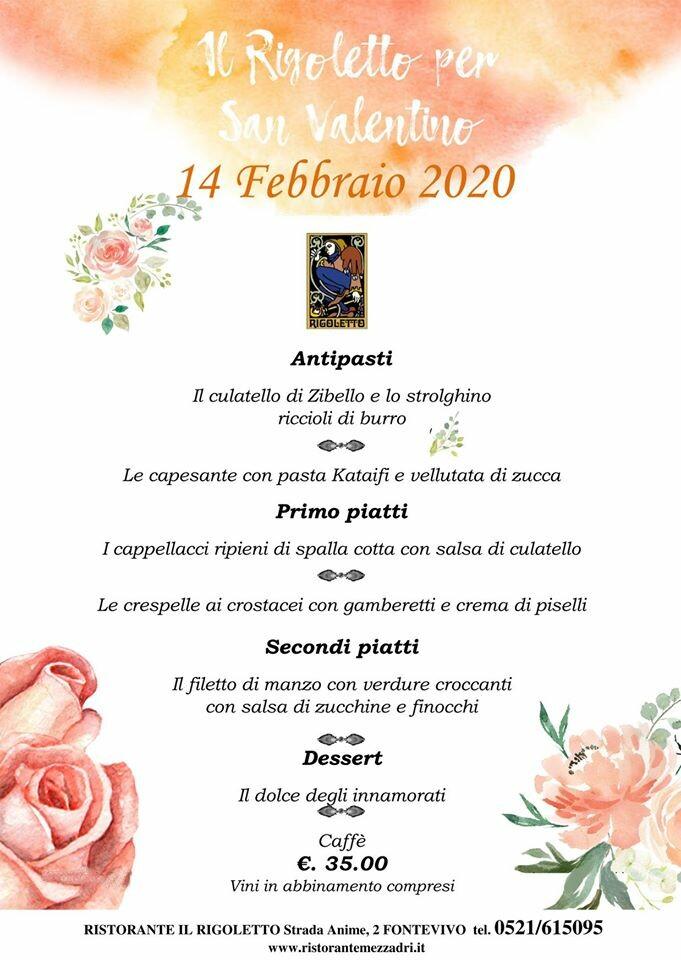 Al Rigoletto serata di San Valentino allietata dalla musica di Tedeschi Michela