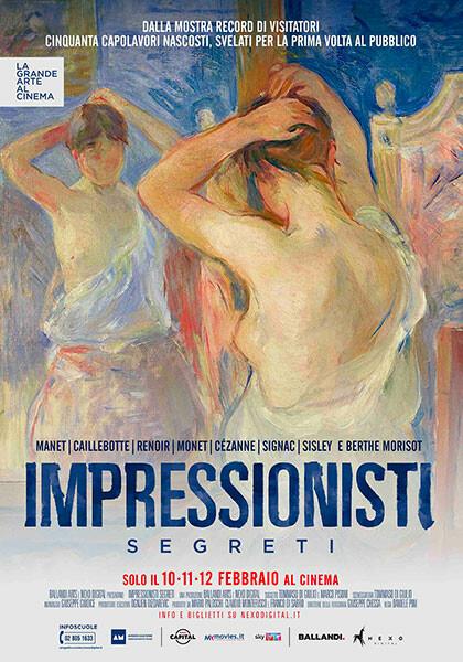 La grande arte al cinema:   IMPRESSIONISTI SEGRETI al cinema Astra Parma