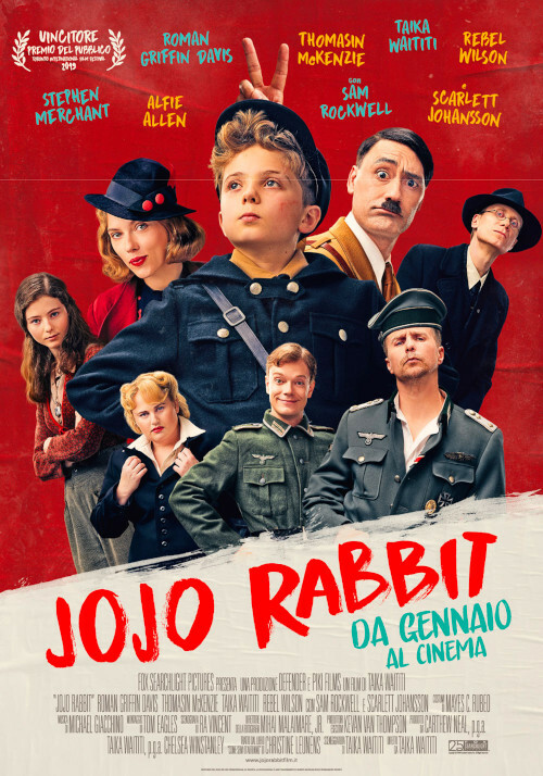 JOJO RABBIT al cinema Odeon di Salsomaggiore