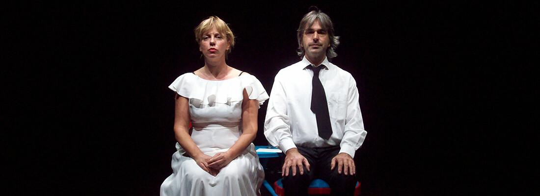 SPECIALE SAN VALENTINO al teatro di Fontanellato ♥  A D D I I ♥ D'A M O R E  con  Carlo Ferrari e Franca Tragni