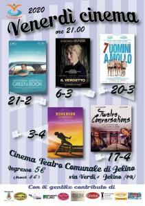 """""""Venerdì cinema 2020"""" a Felino"""