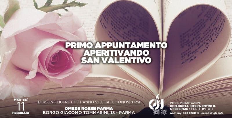 Primo appuntamento di San Valentino a Parma  all'Ombre Rosse