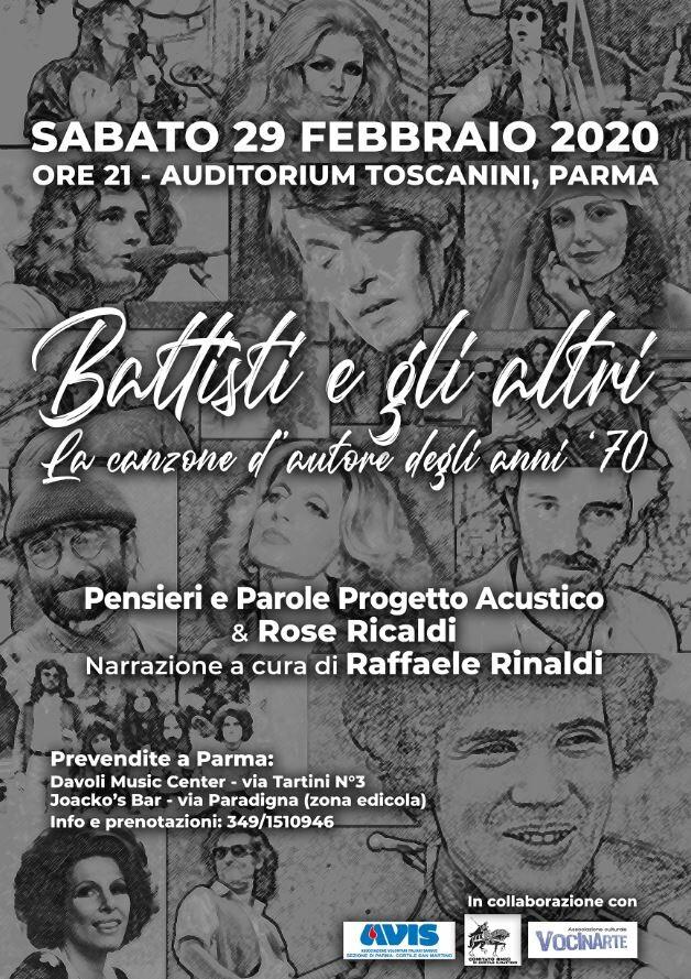 """""""BATTISTI E GLI ALTRI - La canzone d'autore degli anni '70"""