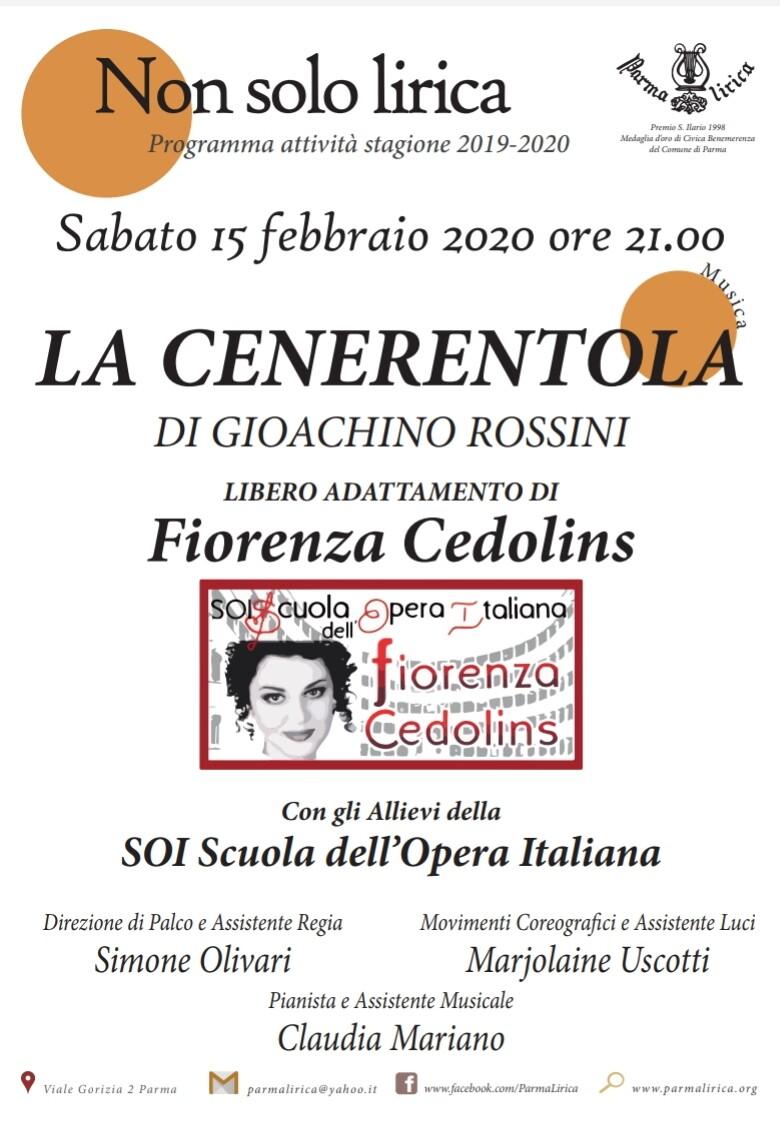 La Cenerentola di Rossini a Parma Lirica