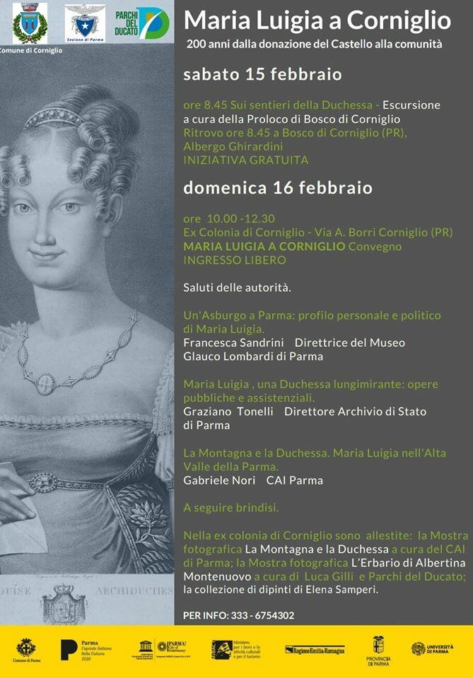 CORNIGLIO festeggia i 200 anni dalla donazione del CASTELLO alla comunità!
