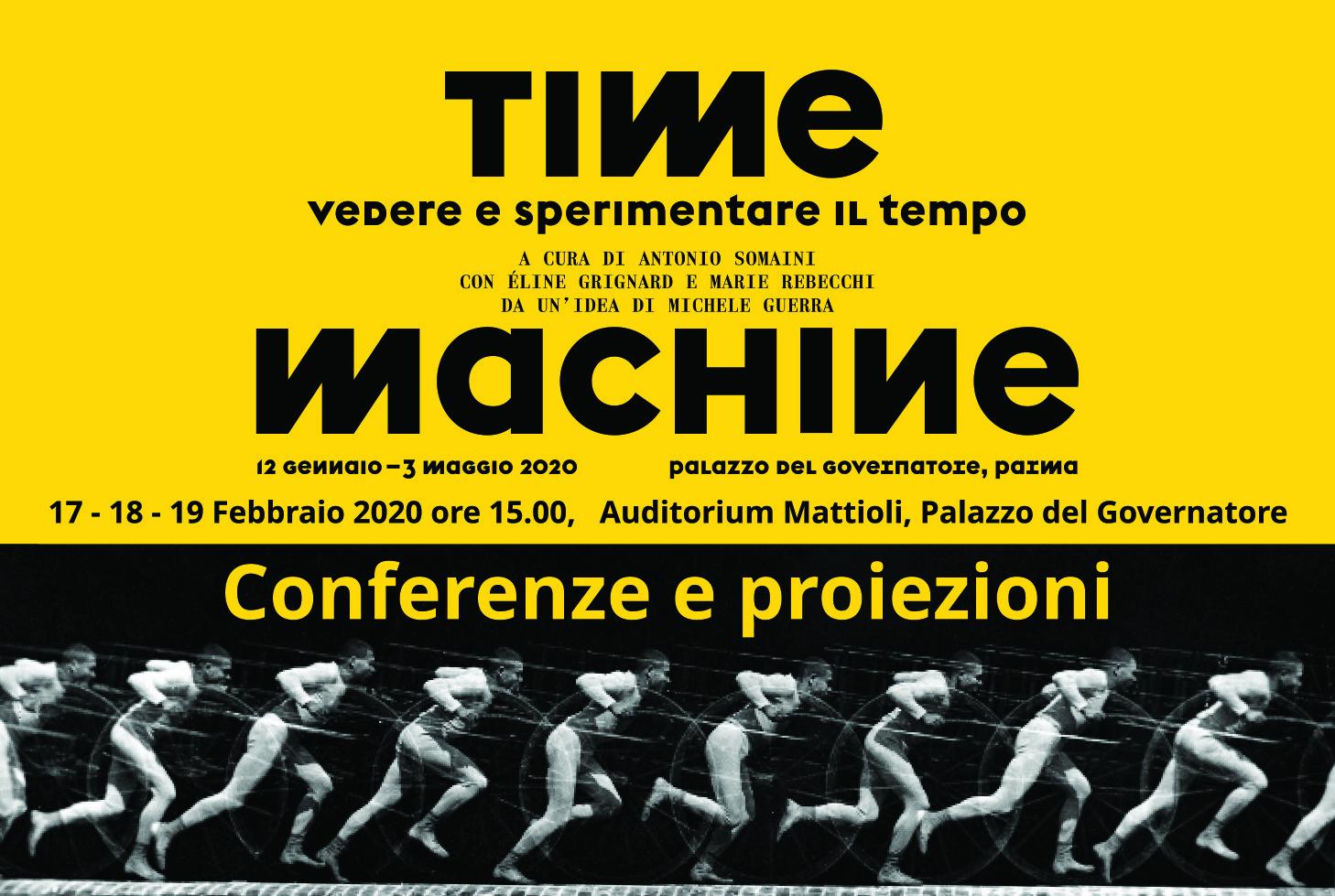 Time Machine, conferenze e proiezioni cinematografiche nell'ambito della mostra ospitata a Palazzo del Governatore: le conferenze