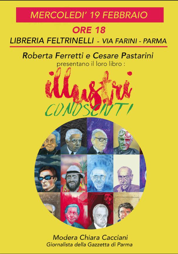 Illustri conosciuti 39 Italiani del '900     diCesare Pastarini con illustrazioni di Roberta Ferretti
