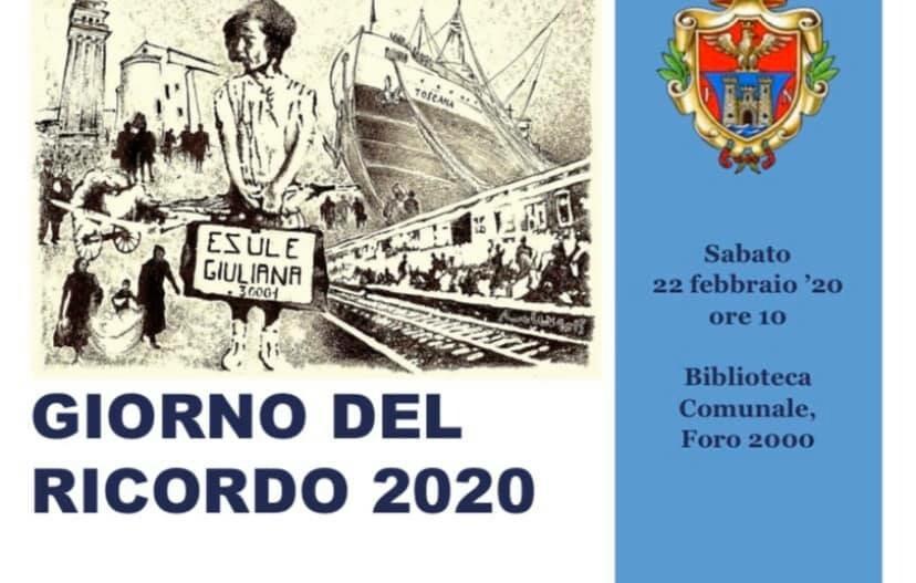 Giorno del ricordo 2020 a Fornovo