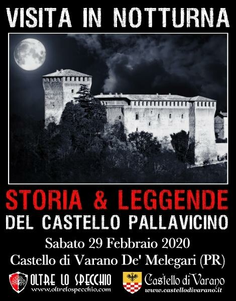 VISITA IN NOTTURNA sabato 29 febbraio 2020 al Castello di Varano