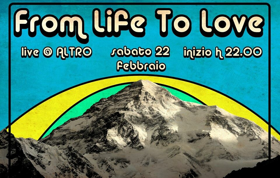 From Life To Love back on stage at Bar Altro