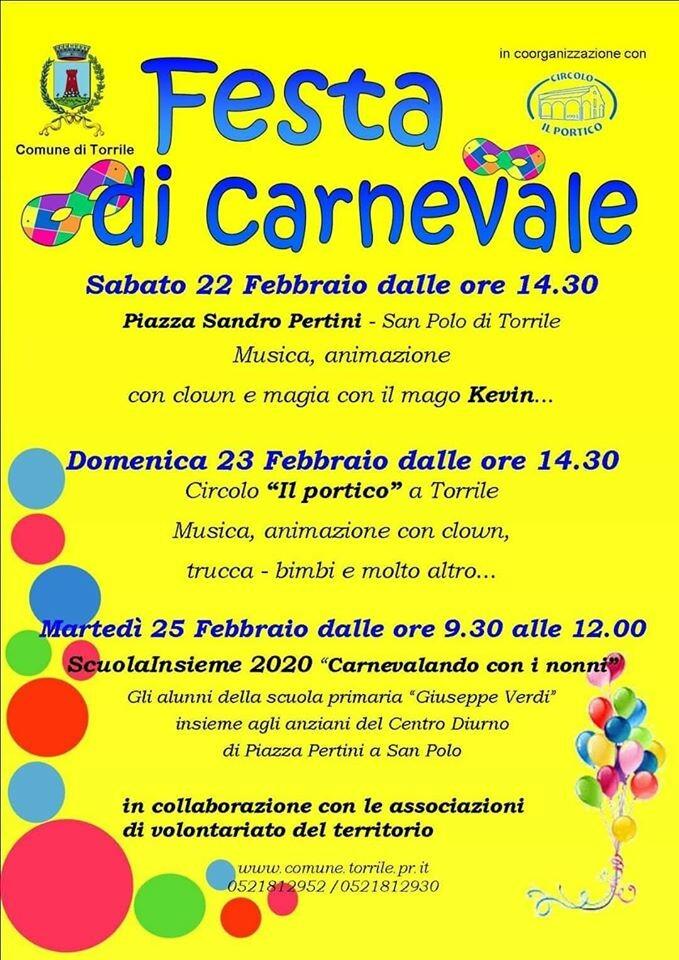 Festa di Carnevale a Torrile